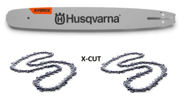 "Husqvarna Schienenpaket X-CUT | X-FORCE | 15""/38cm 